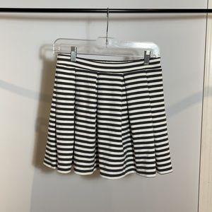 American Eagle Striped Skater Skirt